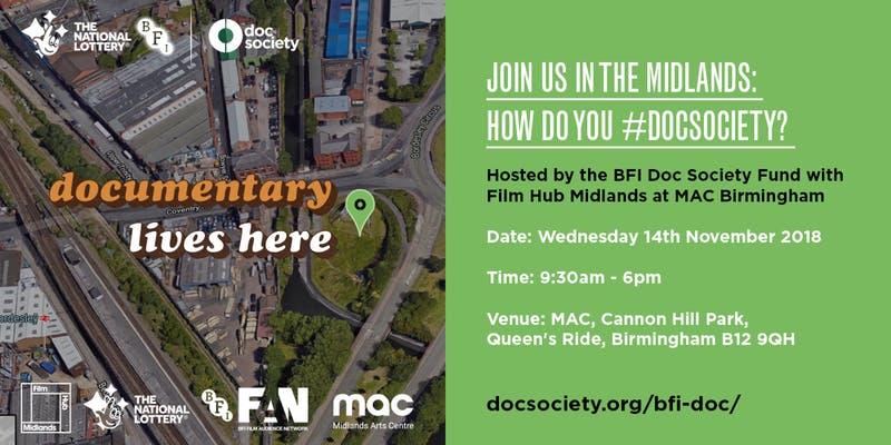 How Do You #DocSociety Midlands?