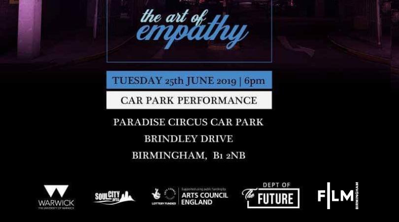 Multi-Media Arts Event at Paradise Circus car park – June 25th
