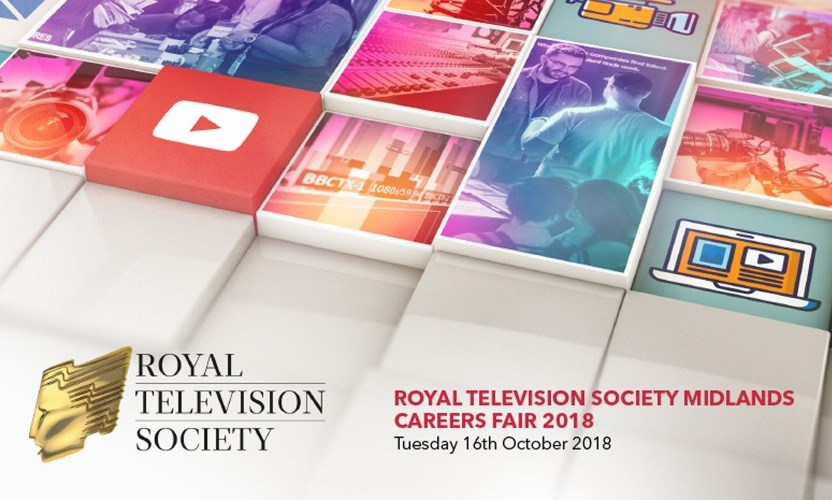 RTS Midlands TV Careers Fair – October 7th