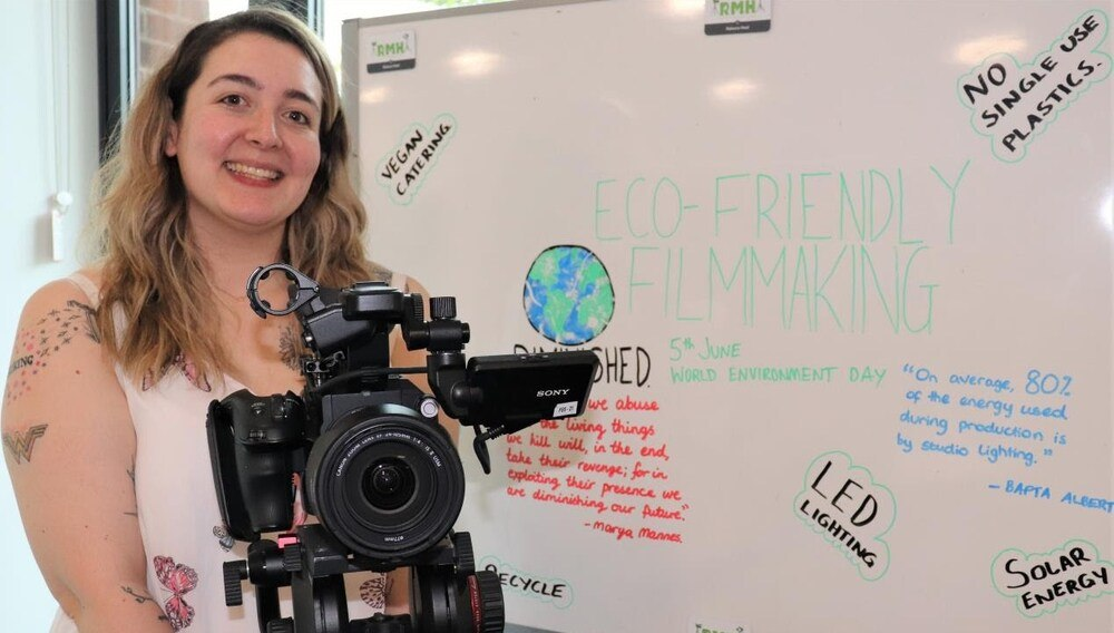 Sustainable Filmmaking at Staffordshire University