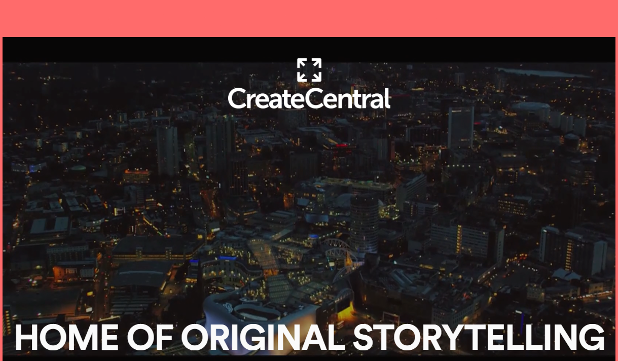 Investment for Create Central to boost West Midlands screen industries