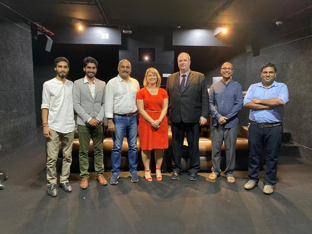 Birmingham film students gain access to major Bollywood industry