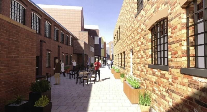 Ambitious creative studios plan in Birmingham's Jewellery Quarter