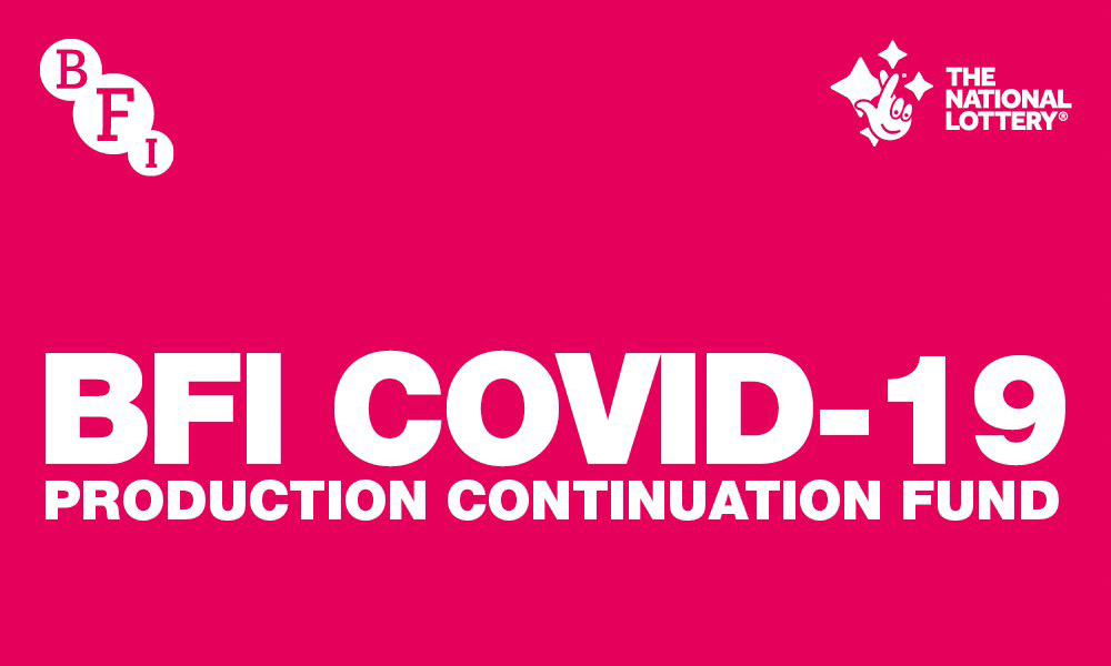 BFI Covid-19 Production Continuation Fund for UK independent productions