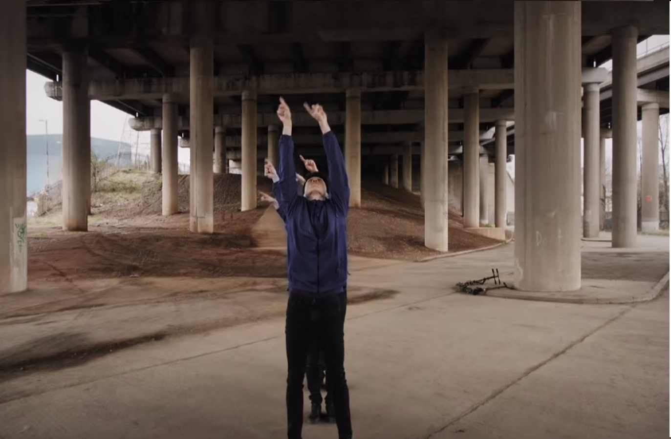 Short Dance Film Set Under Birmingham's Spaghetti Junction
