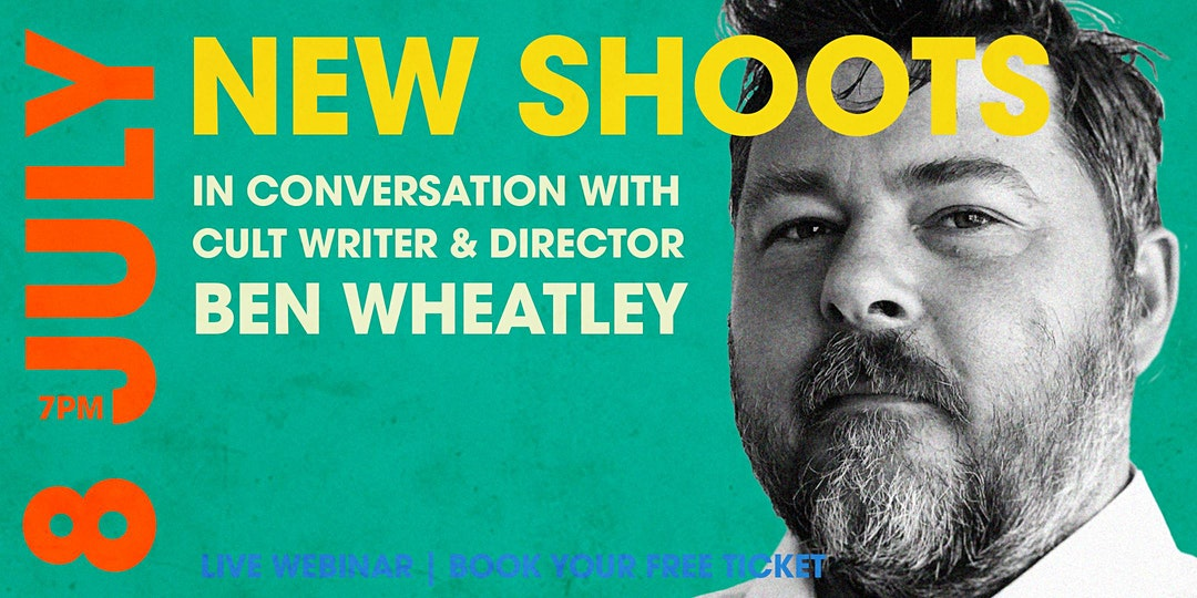 photo of ben wheatley on film Q&A event poster