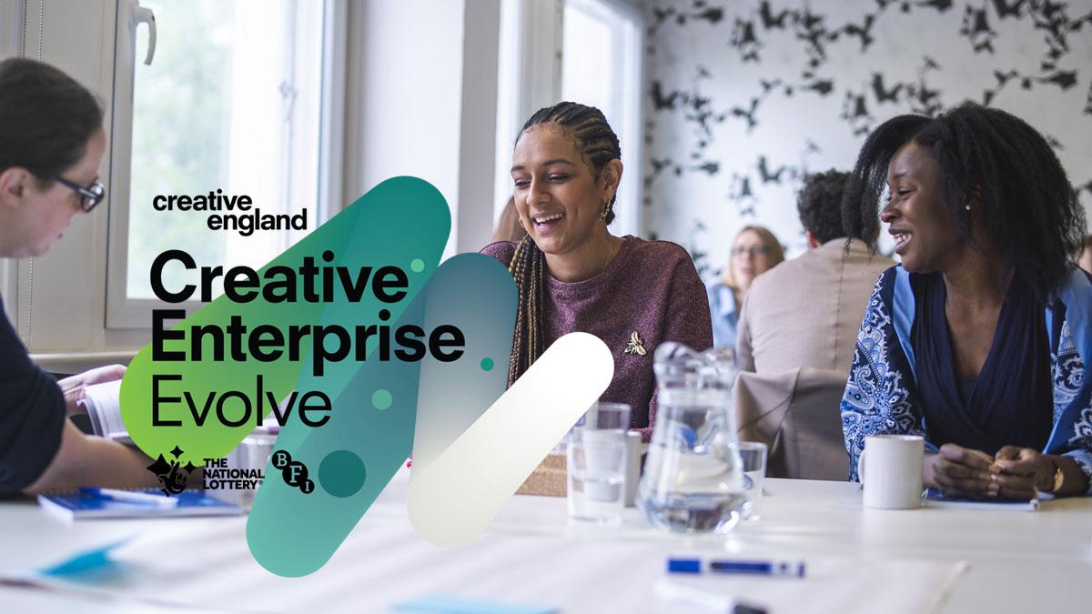 Apply for investor relations programme Creative Enterprise Evolve
