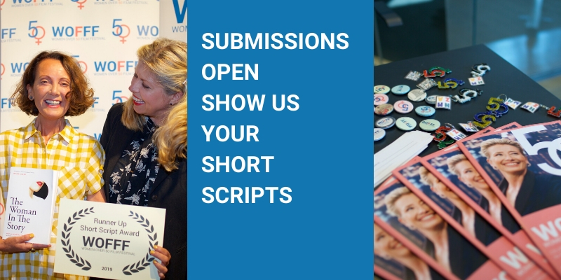 WOFFF – Short Script Contest for woman over 50 now open