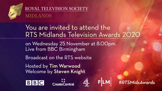 RTS Midlands Television Awards 2020 Nominees